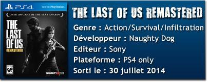 fich tech TLOUR [TEST] The Last of Us : Remastered (PS4)