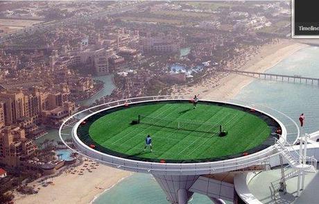 Les terrains de sport les plus insolites du monde
