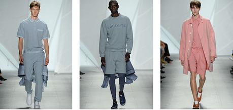 Lacoste défile à New York pour sa collection Printemps/Été 2015