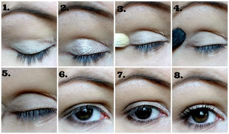 tutoriel naked basics urban decay étape par étape