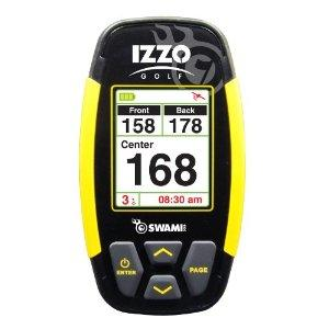 IZZOSWAMI GPS 4000 , OVER 30,000 COURSES MAPPED , NO DOWNLOADS AUTO HOLE ADVANCE , DISTANCE FRONT , MIDDLE AND BACK , DURABLE WATERPROOF DESIGN