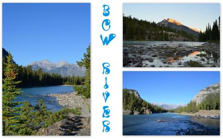 Banff bow river