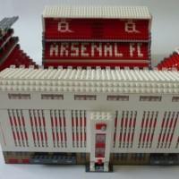 Les stades de foot anglais en Lego