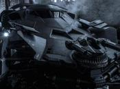"Nouvelle photo officielle batmobile ""Batman Superman""."