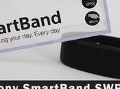 Sony Smartband, tracker d'activité…