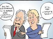 Corruption occasions font larron