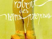 Robert noms propres d'Amélie Nothomb