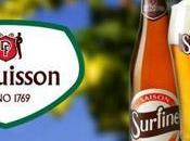 nouveau brassé chez Dubuisson bière Surfine