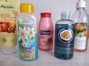 sélection gels douche pour l'été
