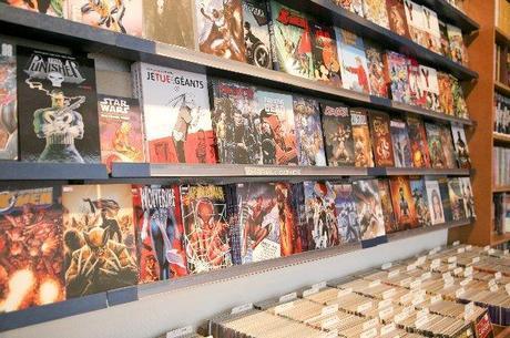 ou acheter des comics