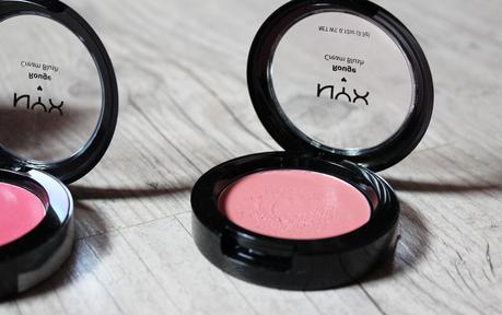 Les blush crème NYX : mieux que leurs copains en poudre ?