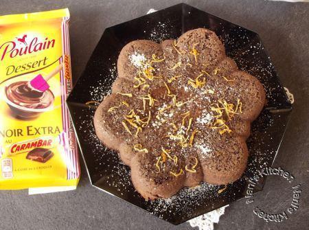 gâteau flan chocolat  (1)