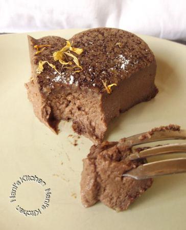 gâteau flan chocolat  (5)