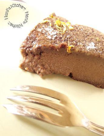 gâteau flan chocolat  (4)