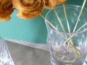 Escargots feuilletés tapenade verte