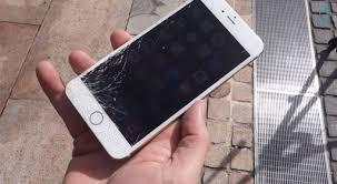 Crash Test iPhone 6: Oups