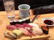 manger sushis Tokyo