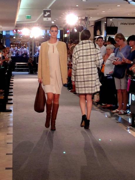 Le Printemps fait défiler la mode à Lyon !