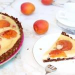 tarte cheesecake part abricots pâtisserie 150x150 Le vrai cheesecake new yorkais & ses toppings