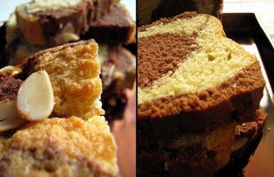 L'idée du week-end : gâteau marbré... Ce n'est pas que pour les enfants !