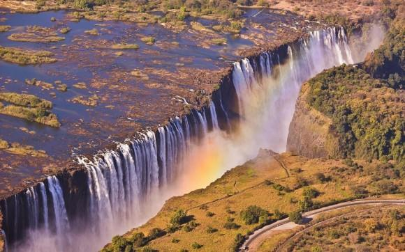 Waterfall-Africa-Zambia