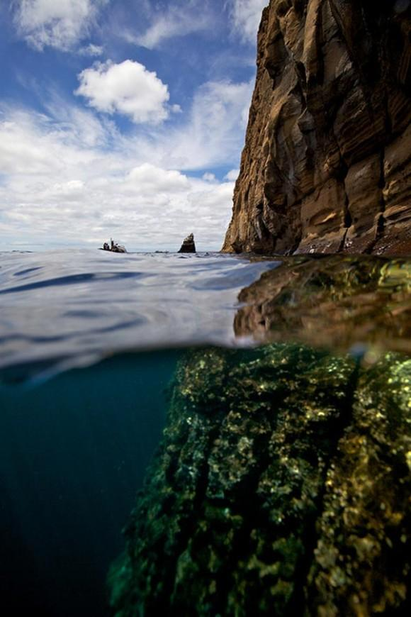 Split-View-Galapagos-Islands