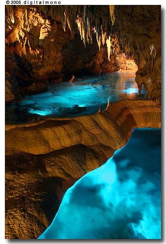 Illuminated Caves – Okinawa, Japan