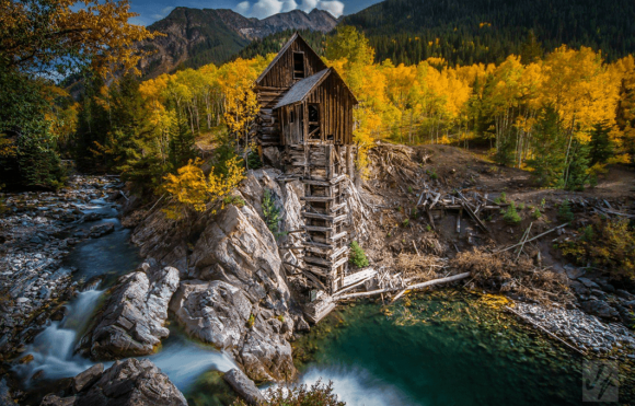 Dead Horse Mill, Crystal Colorado