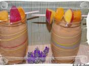 Smoothie peches jaunes-abricots lait coco