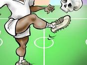 Foot sacrifice humain Ghana, article dessin Damien Glez Jeune Afrique