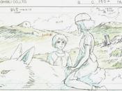 planches originales Studio Ghibli arrivent Paris