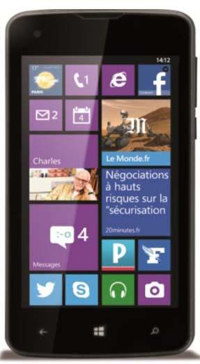 Un premier smartphone sous Windows Phone chez Danew à 69 €