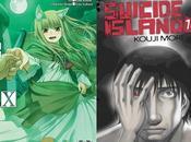 Manga,10 tomes plus tard Spice Wolf Suicide Island