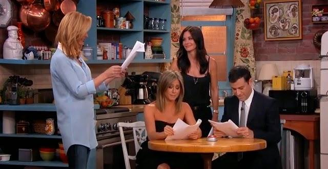 Pour les 20 ans de Friends Courteney Cox, Jennifer Aniston et Lisa Kudrow reprennent du service