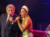 Showcase Lady Gaga Tony Bennett, Grand Place, Bruxelles, septembre 2014.