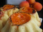 Petits gâteaux yaourt, l'huile d'olive abricots