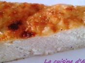 Gâteau semoule salé fromage