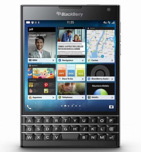 BlackBerry lance un smartphone avec un écran carré et des fonctionnalités innovantes