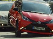 Toyota Aygo elle marque territoire
