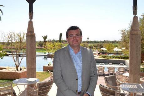 Xavier Jolivet, directeur général du Royal Palm Marrakech / Copyright Julien Tissot