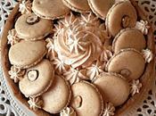Tarte macarons noisette