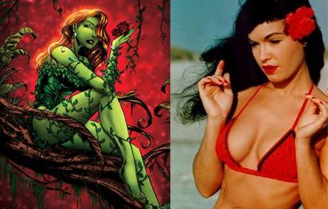 poison ivy betty page