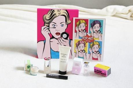 glossy box septembre 2014 edition pop art