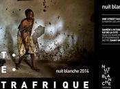 samedi octobre, découvrez Street galerie monumentale conçue avec William Daniels pour Nuit Blanche Paris- Noire Centrafique