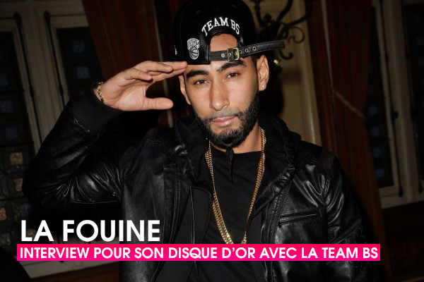 Team BS - Interview de La Fouine pour son disque d'or !