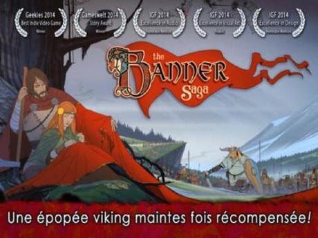 The Banner Saga est disponible sur iPhone, iPad et iPod touch