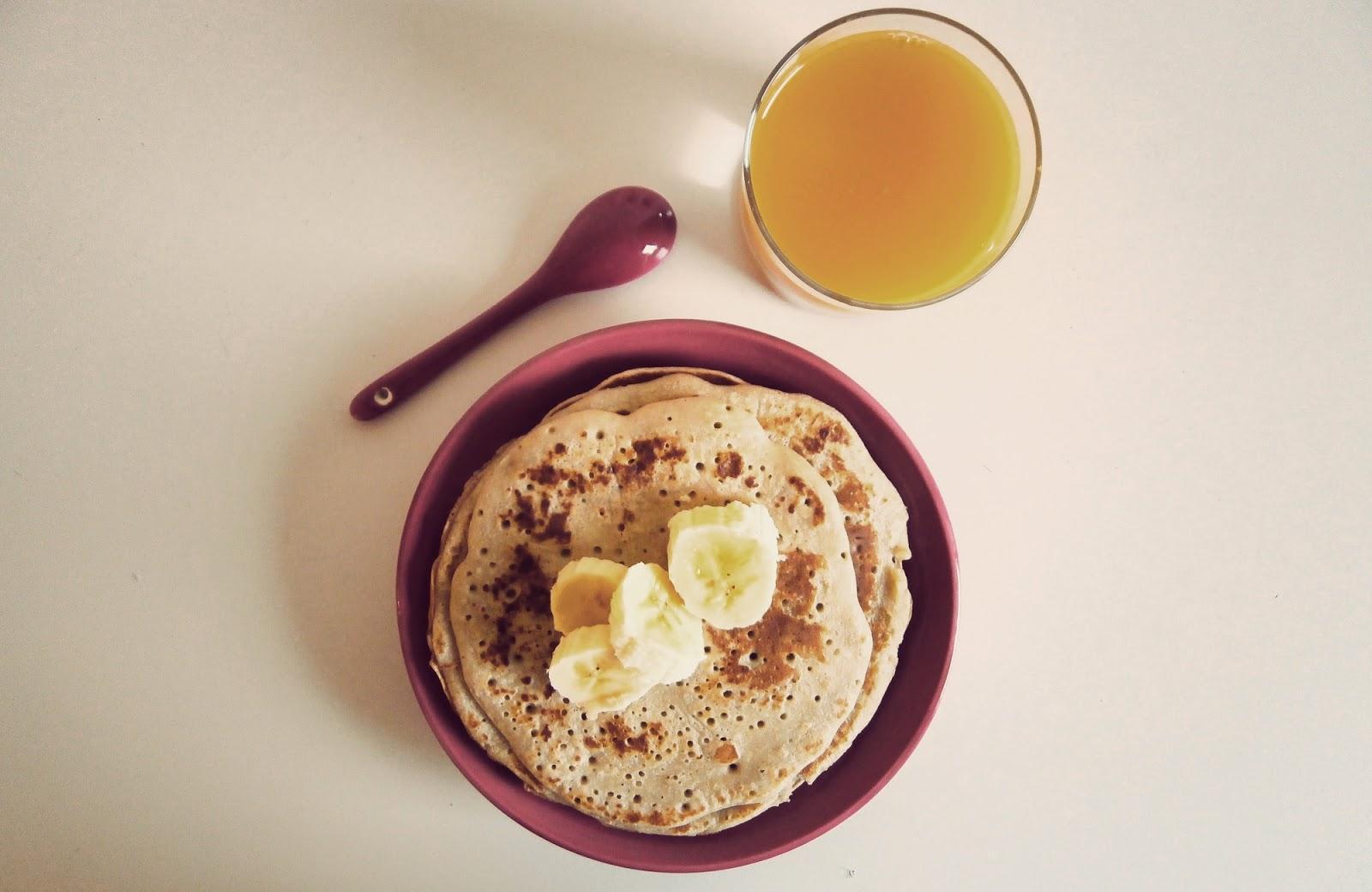 Bien connu cuisine healthy] petit déj, crêpes à la banane - Paperblog BW89