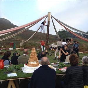 les carnets de julie andrieu au pays basque les coulisses du tournage gourmand