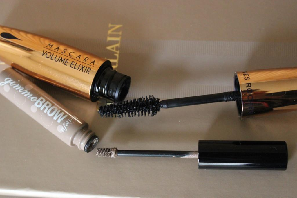 mascara yves rocher, mascara sourcils benefit