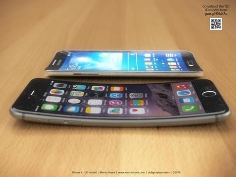 Au final, c'est pas si mal un iPhone 6 plié